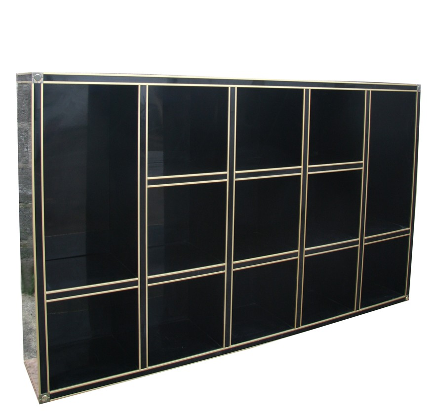 brass bookcase christopher ikea etagere little home and smythe s green tommy hack apartment house notebook