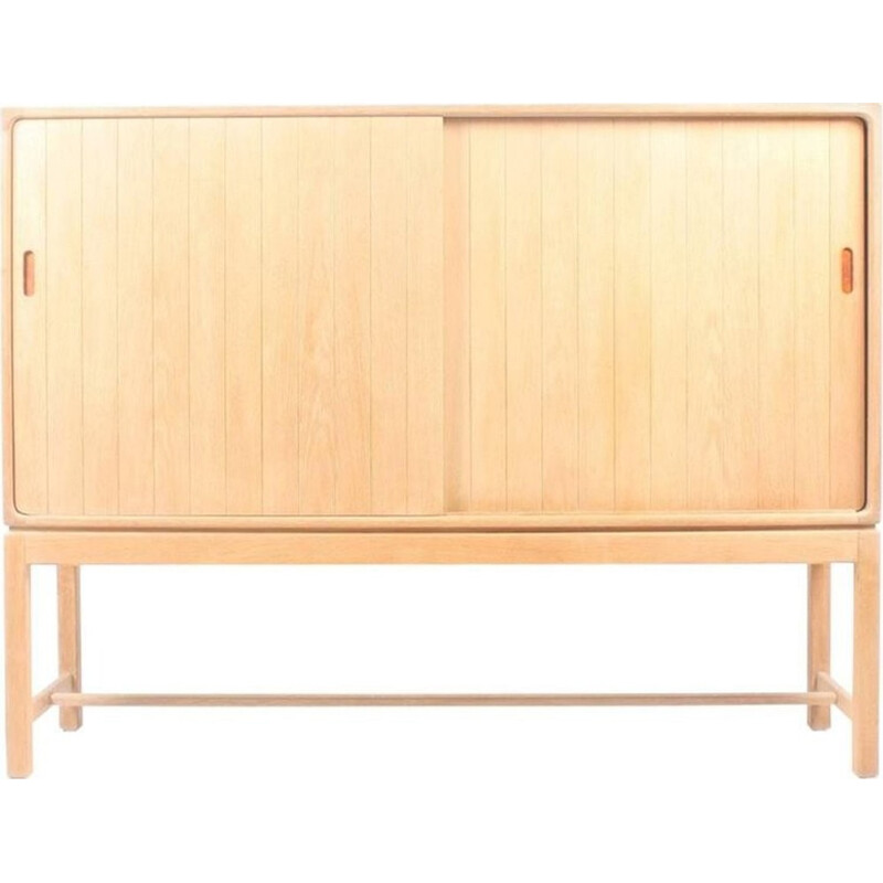 Cabinet in Solid Oak by Kurt Ostervig - 1960s