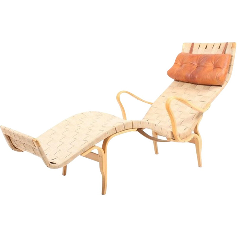 Lounge Chair Model Pernilla 3 by Bruno Mathsson - 1970s