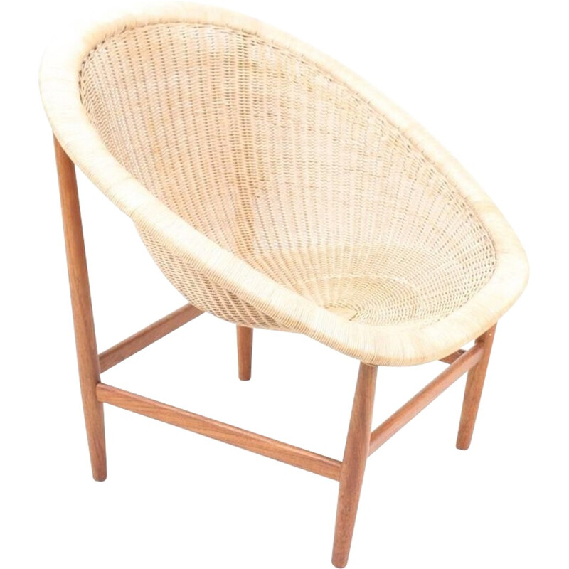 Lounge Chair by Nanna & Joergen Ditzel - 1950s