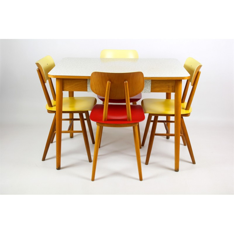formica kitchen table from jitona   1960s formica kitchen table from jitona   1960s   design market  rh   design mkt com