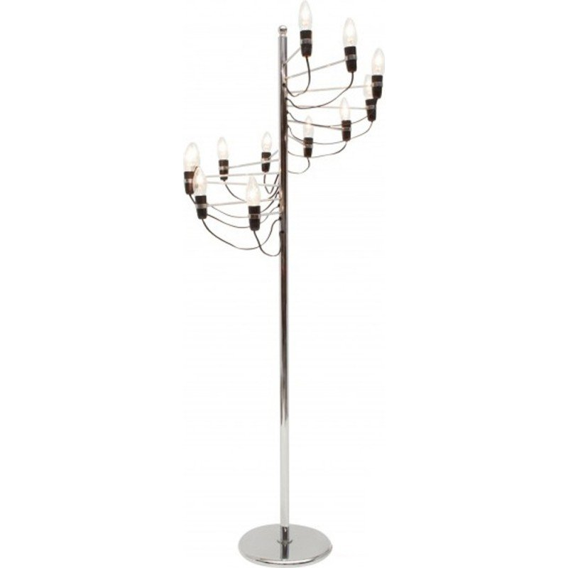 Spiralling floor lamp by Gino Sarfatti for Flos - 1980s