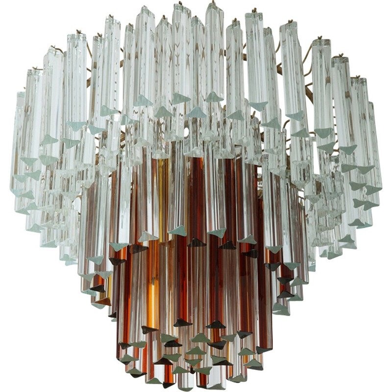 Ceiling lamp in Murano glass by Paolo Venini - 1960s