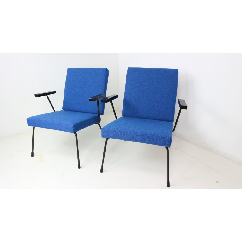 Fantastic Set Of 1407 Lounge Chairs By Wim Rietveld 1950S Caraccident5 Cool Chair Designs And Ideas Caraccident5Info