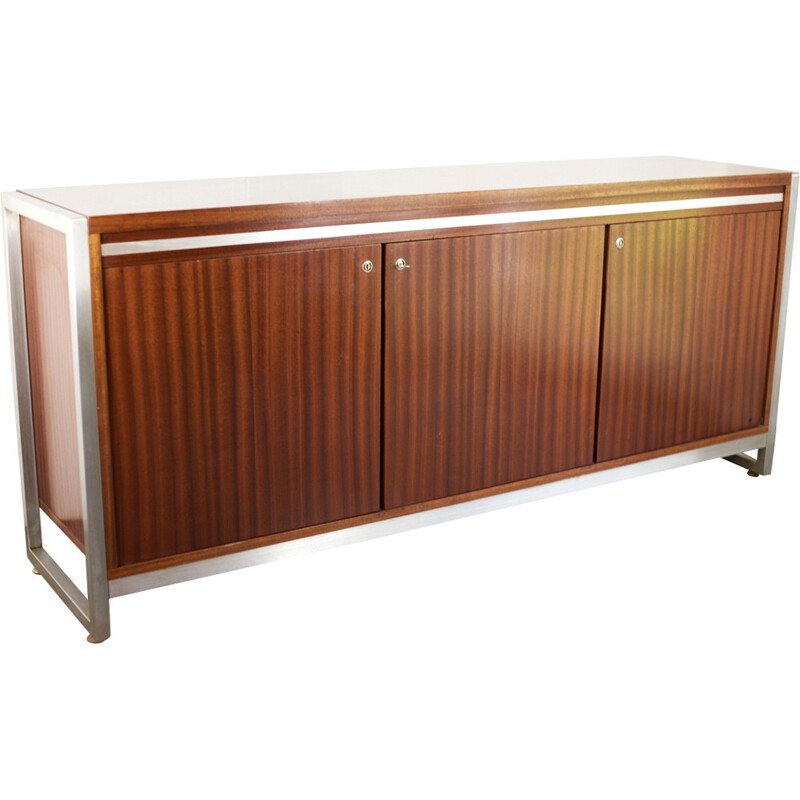 Sideboard in rosewood by Henri Lesêtre and Claude Gaillard - 1970s