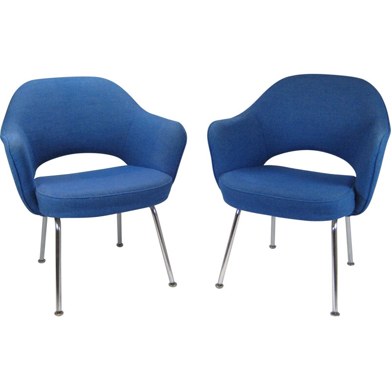 Pair of armchairs model 71 by Eero Saarinen for Knoll - 1970s