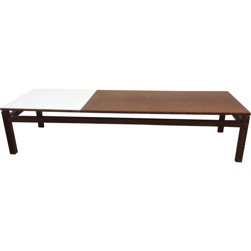 Wenge coffee table from Kho Liang Ie for Spectrum - 1960s