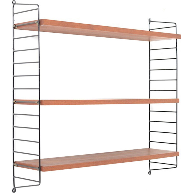 Wall Shelves in Teak by Nisse Strinning - 1960s