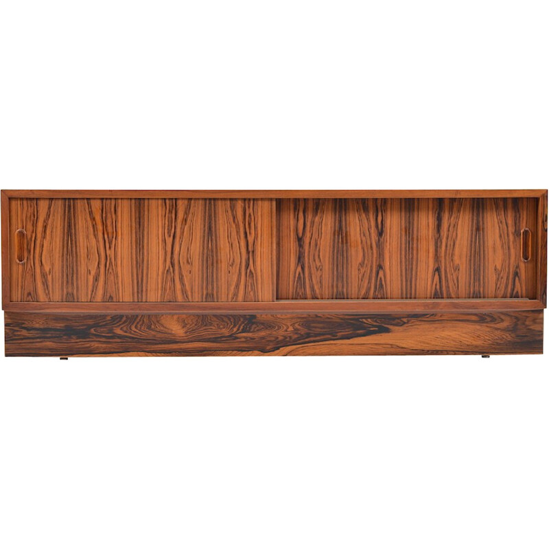 Small rosewood Sideboard by Poul Hundevad - 1960s