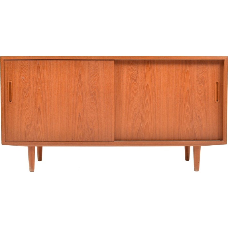 Small Teak wooden Sideboard by Poul Hundevad - 1960s