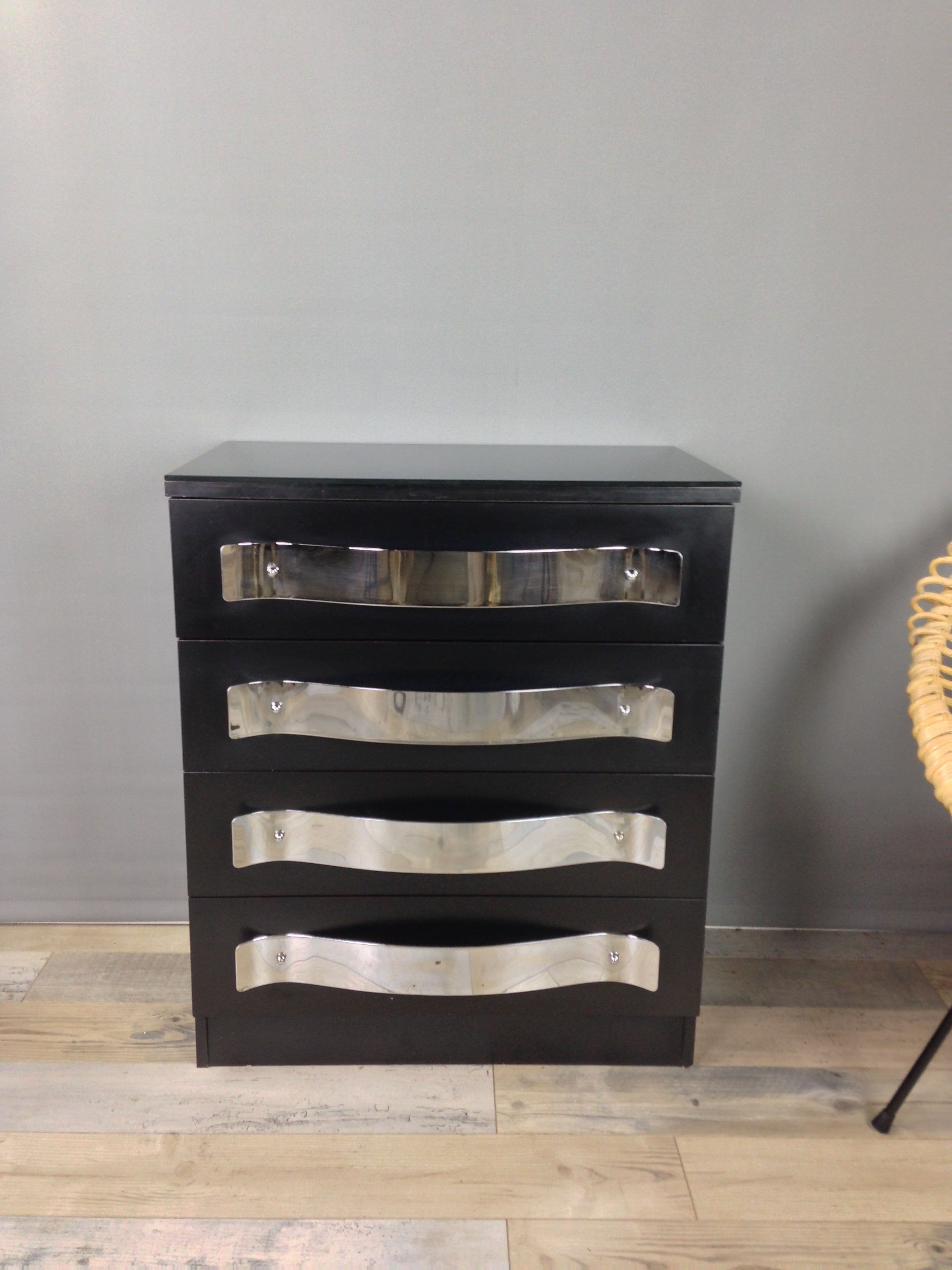 chest drawer dresser and black set laguna double nightstand