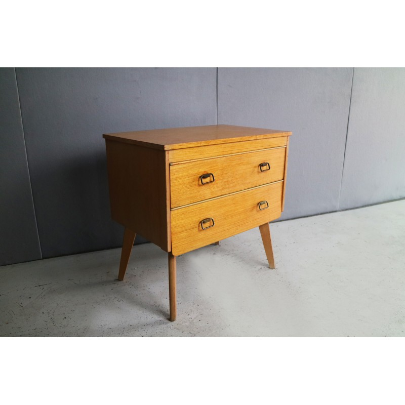 Vintage English Small Chest Of Drawers 1960s Design Market