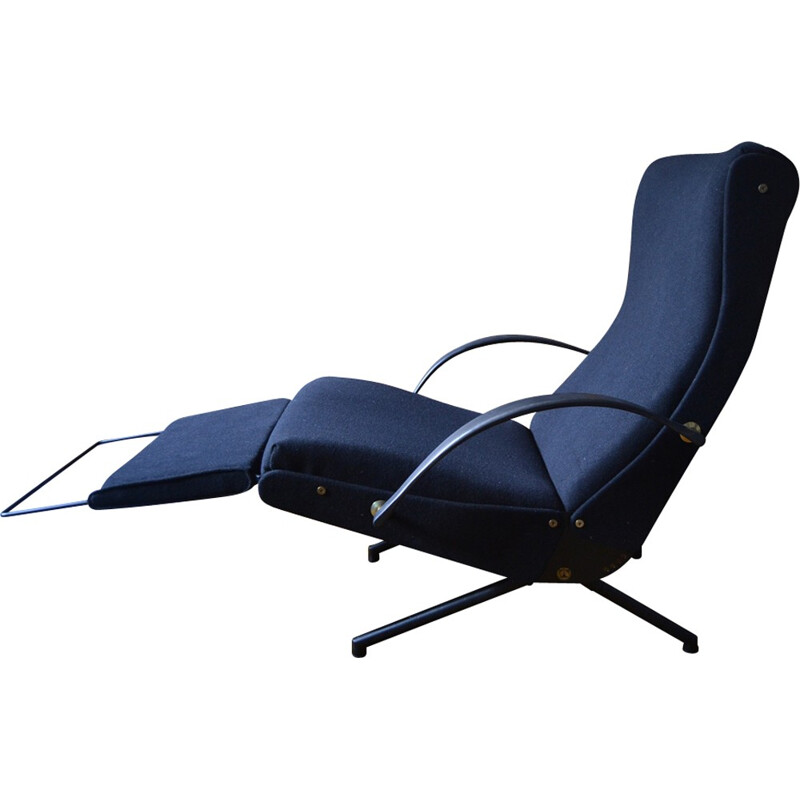 P40 Easy Chair by Osvaldo Borsani for Tecno - 1950s