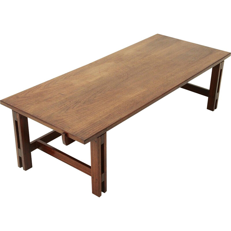 Mod. 751 walnut coffee table by Ico Parisi for Cassina - 1960s