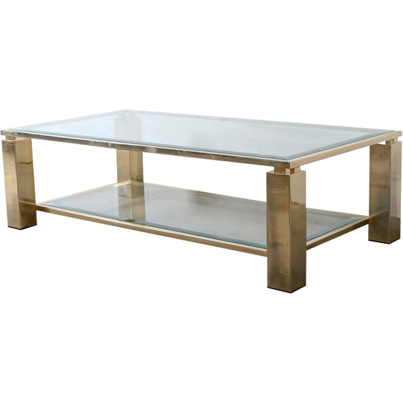 23-carat coffee table by Belgo Chrome - 1980s