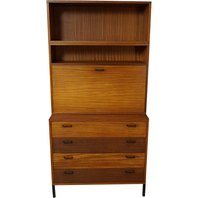 Large vintage chest of drawers in wood - 1950s
