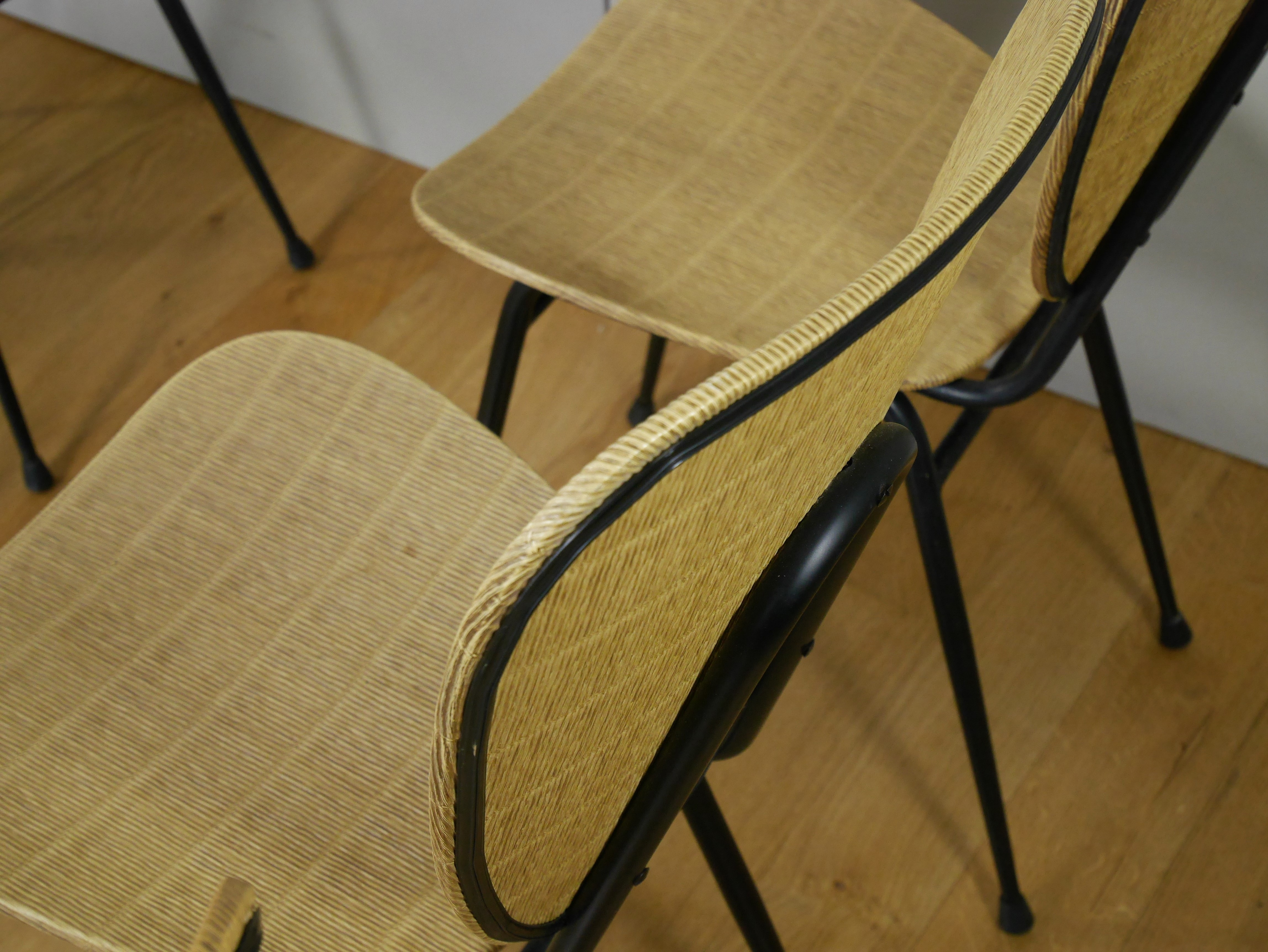 Set of 6 mid century design chairs 1950 Design Market