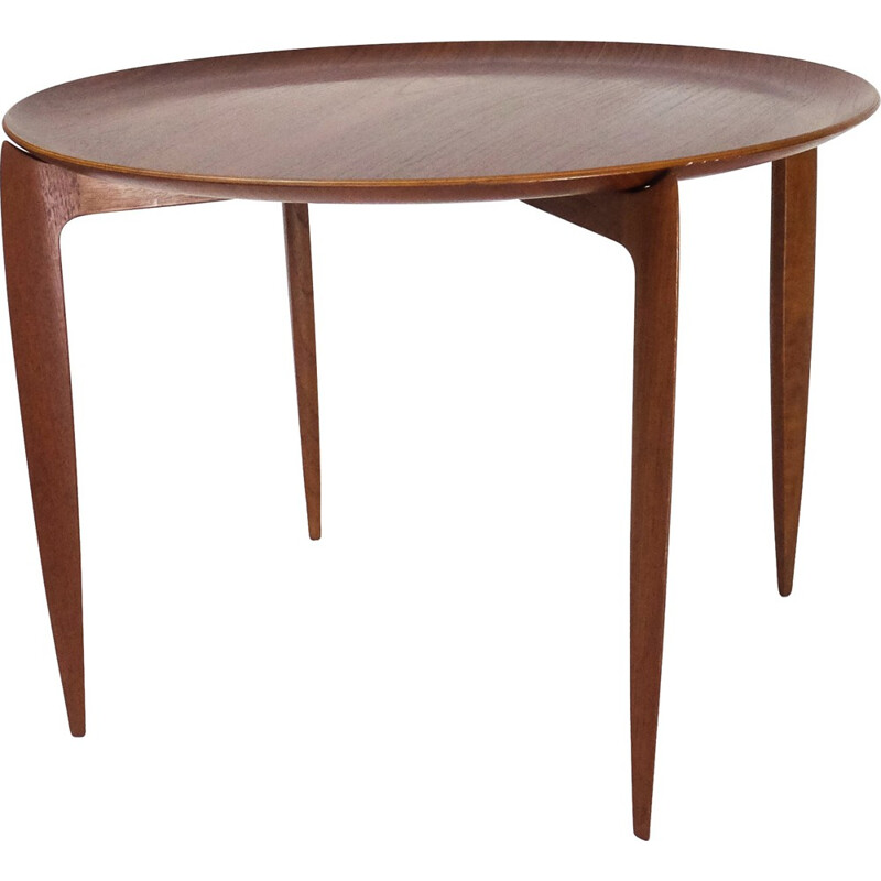 Tray-top table by H. Engholm & Svend Willumsen for Fritz Hansen - 1950s