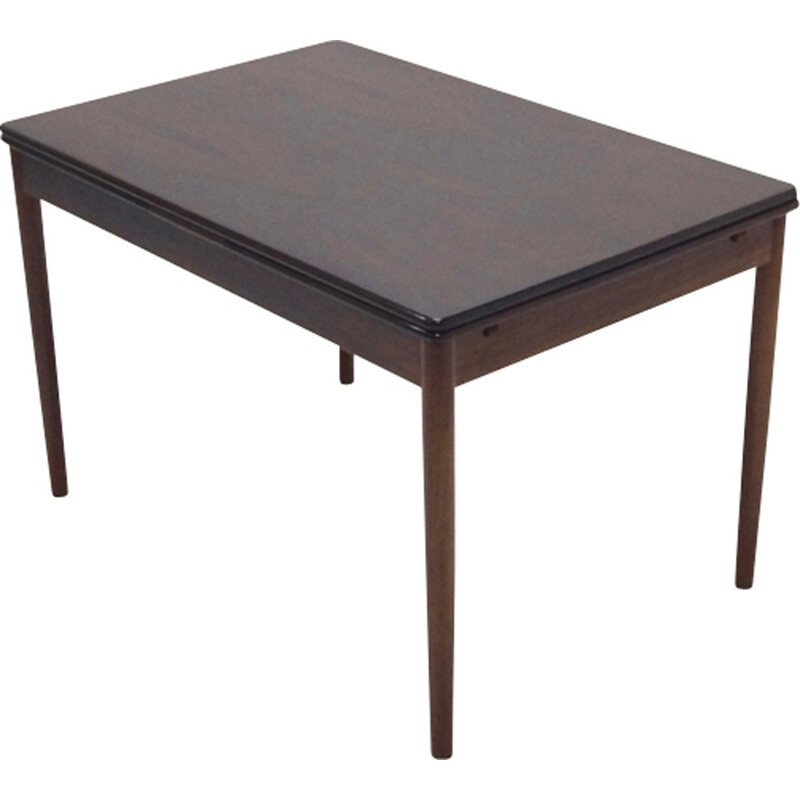 Vintage Extendable Rosewood Dining Table Danish Design - 1960s