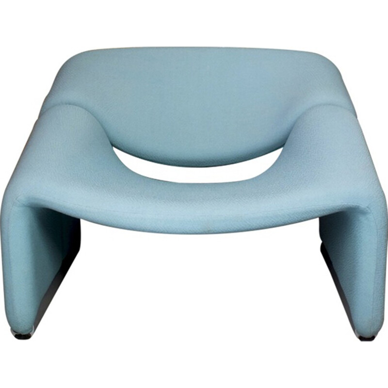 Mid-century Green Groovy armchair by Pierre Paulin - 1970s