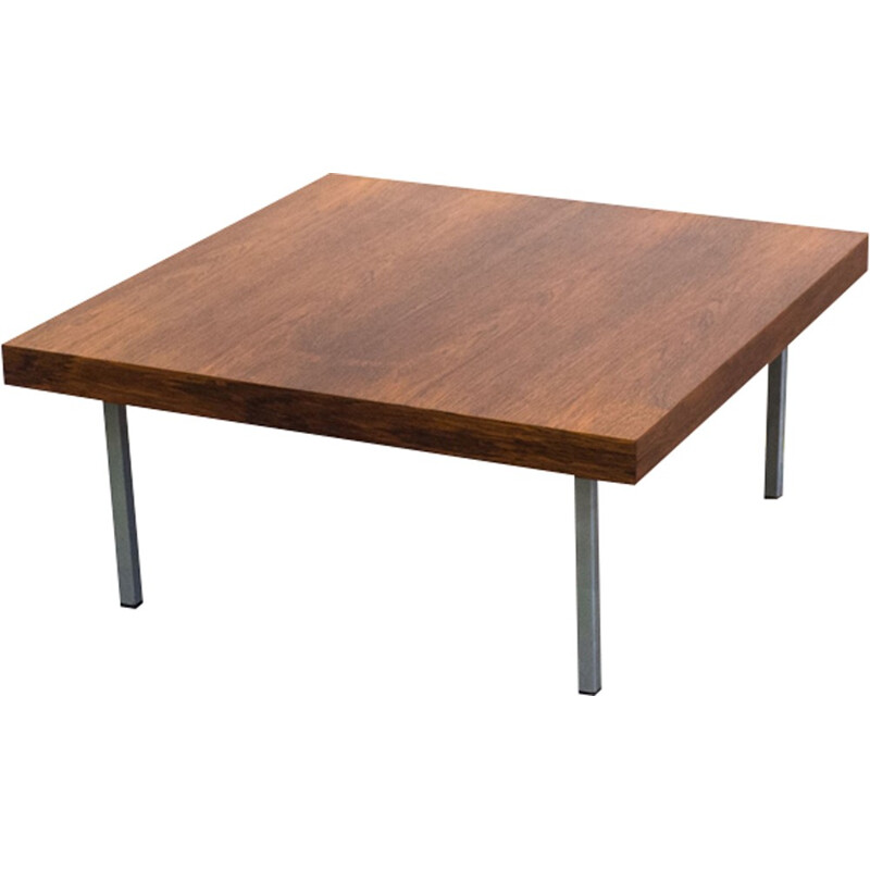 Rosewood coffee table by Kho Liang Ie for Artifort - 1950s