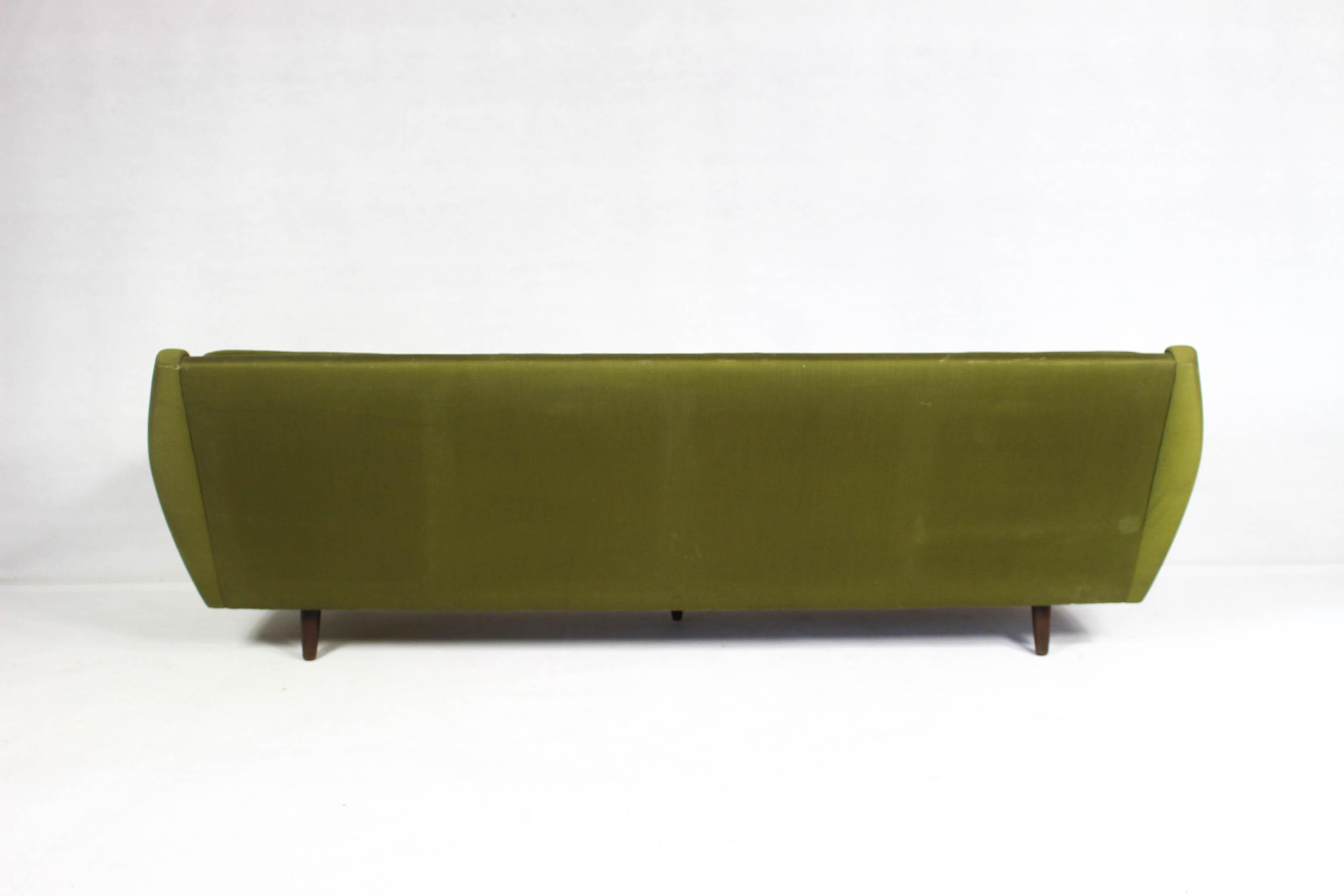 Danish Mid Century Modern Sofa 1960s