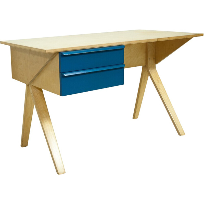 Desk EB02 by Cees Braakman for Pastoe - 1950s
