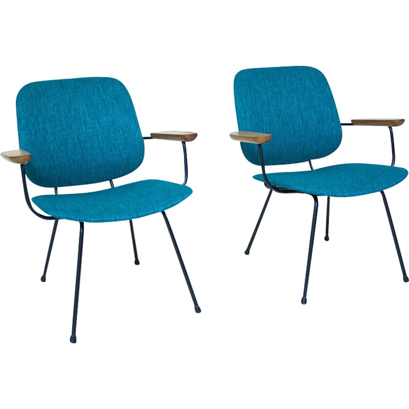 Set of 2 armchairs for Kembo - 1950s