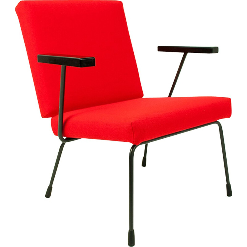 Vintage armchair by Wim Rietveld for Gispen - 1950s