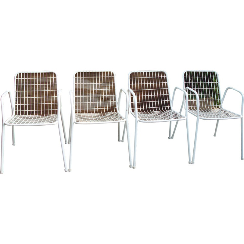 Set of 4 vintage chairs model RIO by EMU  - 1960s