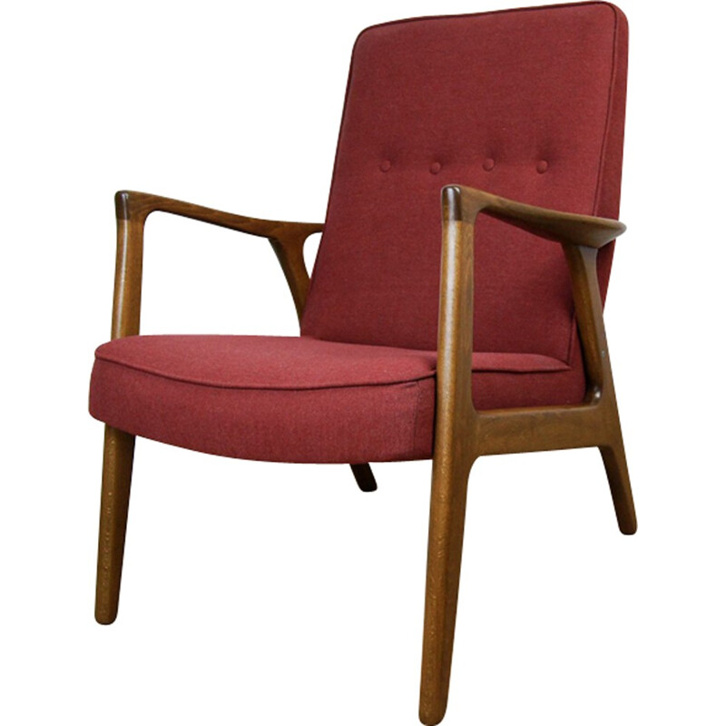 Vintage Swedish Armchair by I. Andersson for Bröderna Andersson - 1960s