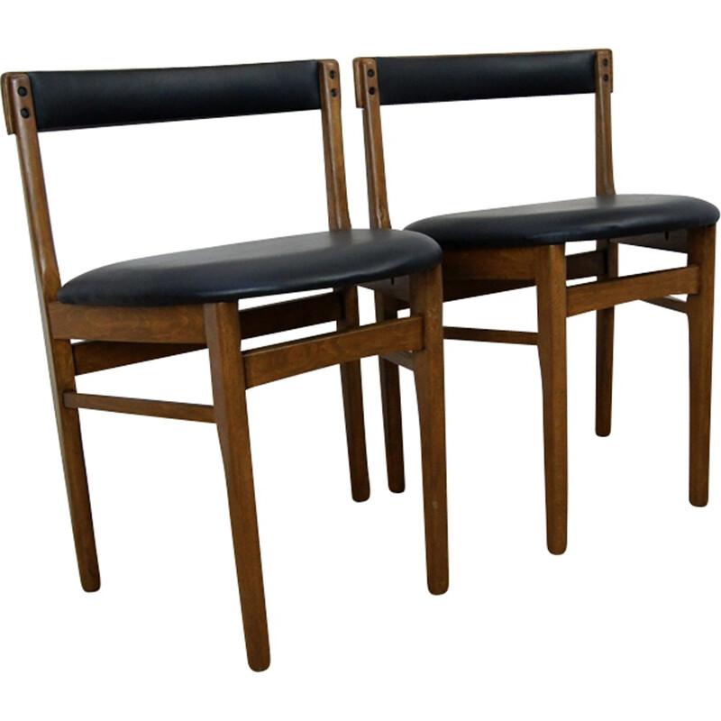 Set of 2 Teak Dining Chairs from McIntosh - 1960s