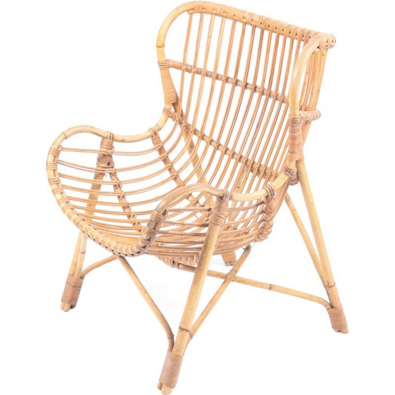 Bamboo Lounge Chair   1950s