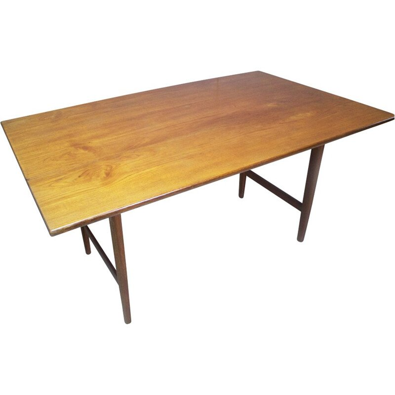 Vintage wood dining table - 1970s