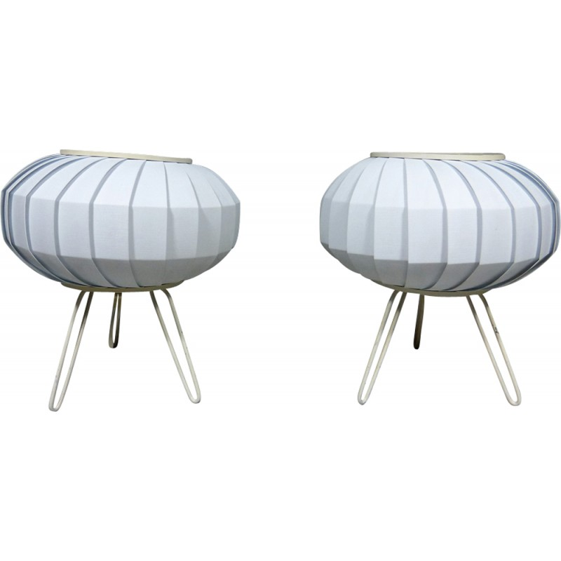 Pair of ufo table lamps 1950s design market pair of ufo table lamps 1950s mozeypictures Choice Image