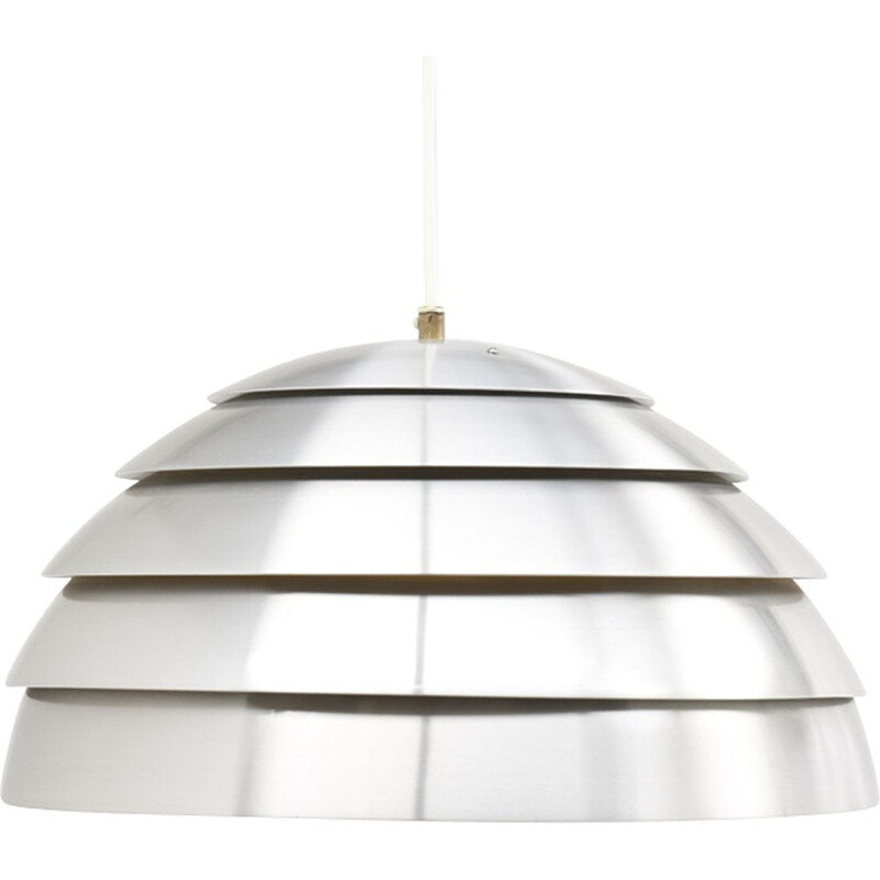 Vintage grey lacquered shade pendant by Hans Agne Jakobsson - 1960s
