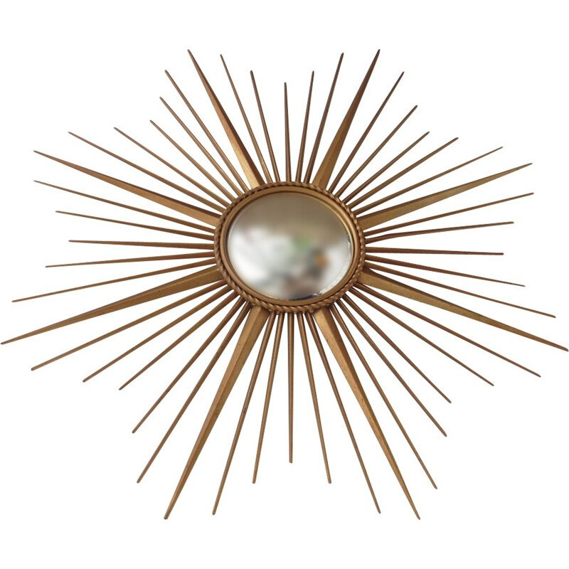 Curved sun mirror Chaty Vallauris - 1960s