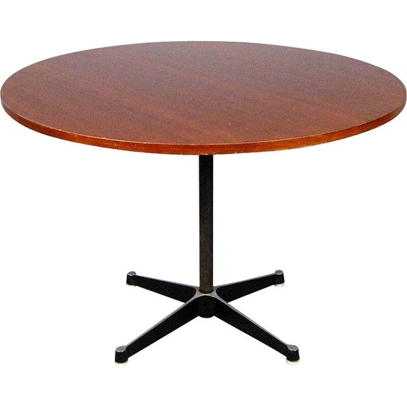 Vintage wooden table by Charles and Ray Eames for Herman Miller - 1950s