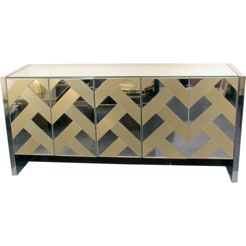 Charmant Vintage American Highboard For Ello Furniture   1970s