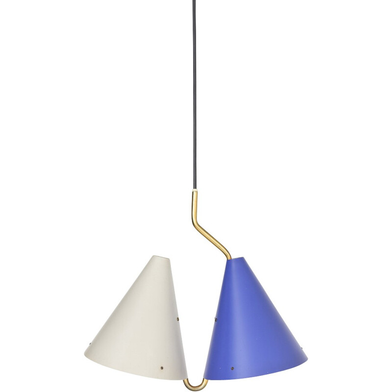 Mid-century Pendant lamp by Svend Aage Holm Sorensen - 1950s
