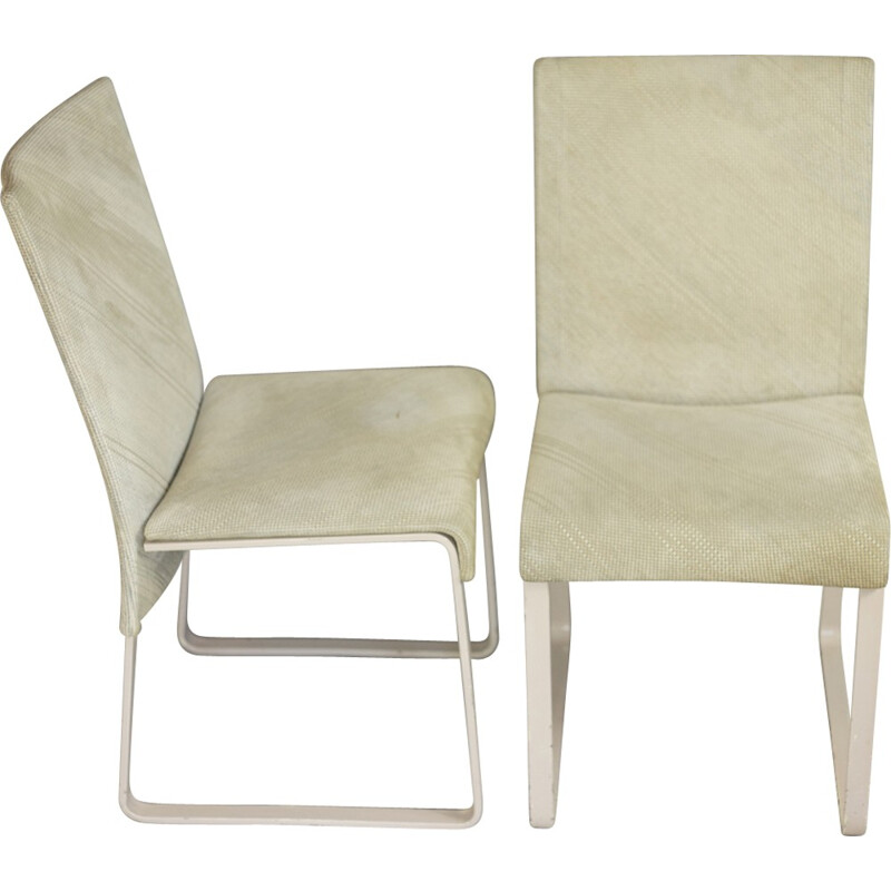 Pair of Chairs by Giovanni Offredi, model Ealing, published by Saporiti, Italy - 1970s
