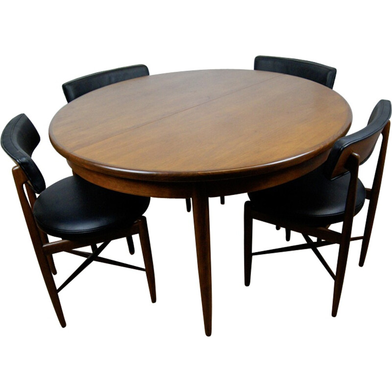 Set of Dining Table by Victor Wilkins for G-Plan - 1960s