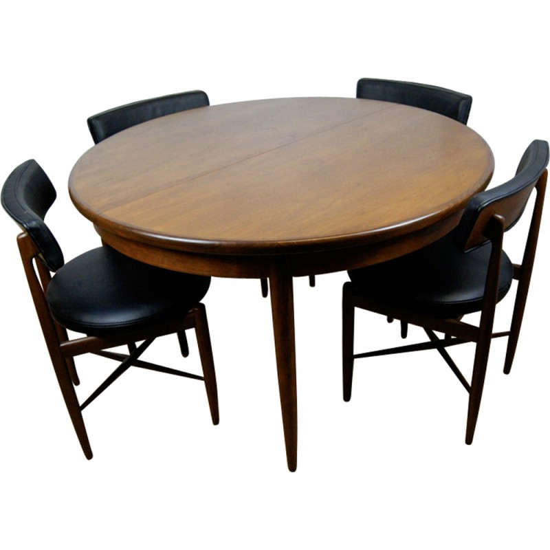 set of dining table by victor wilkins for g plan 1960s design market