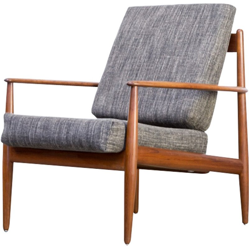 """Lounge easy chair """"Model 118"""" by Grete Jalk for France & Son - 1960s"""
