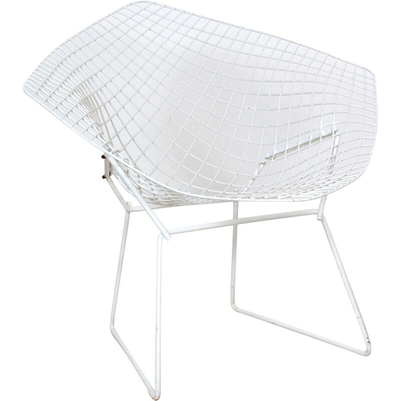 Vintage diamond armchair by Harry Bertoia - 1970s