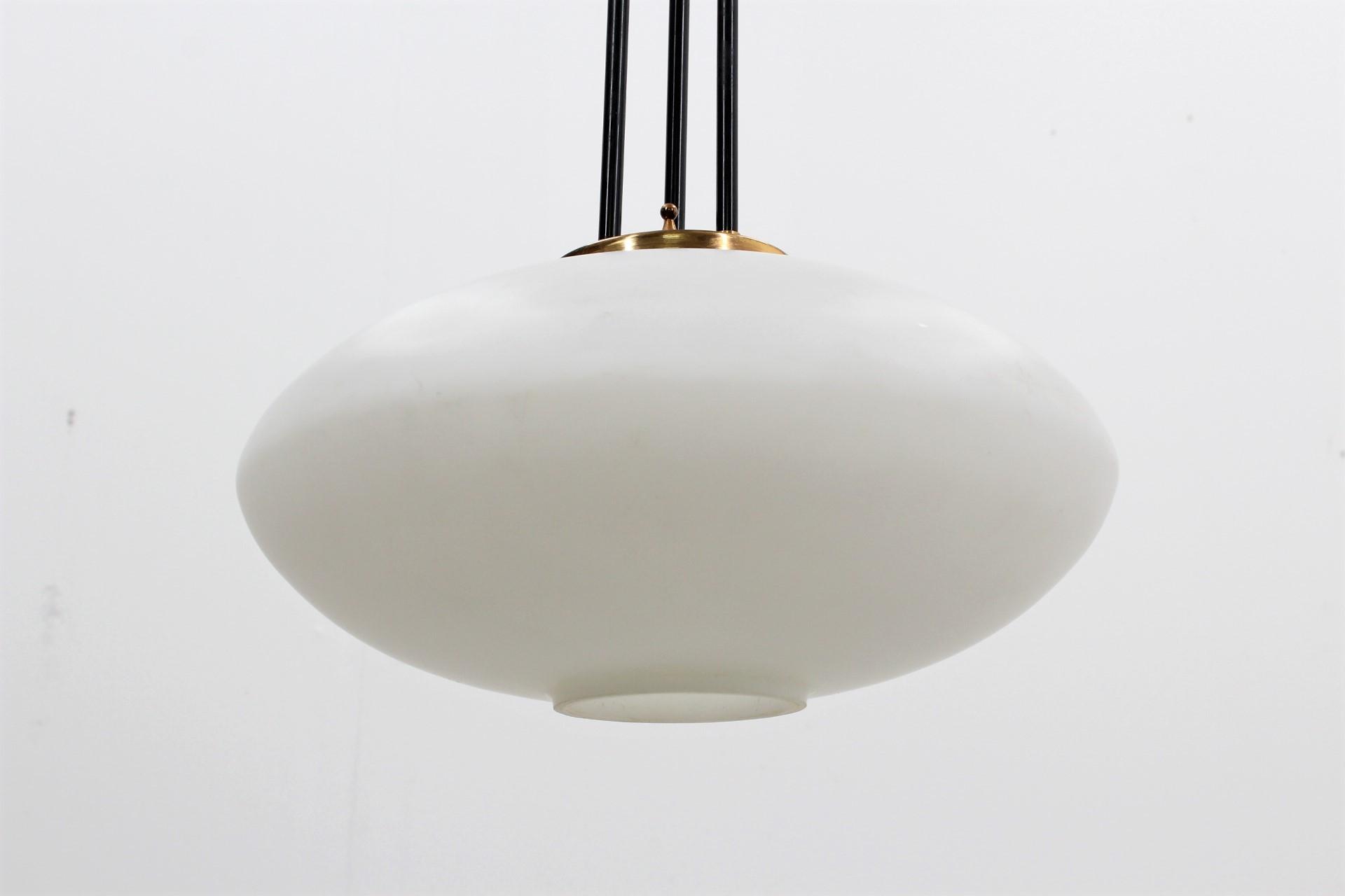 mid century pendant lighting. Mid-century Italian Pendant Lamp From Stilnovo - 1950s. Previous Next Mid Century Lighting I