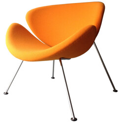 Orange Slice easychair, Pierre PAULIN - 1980s