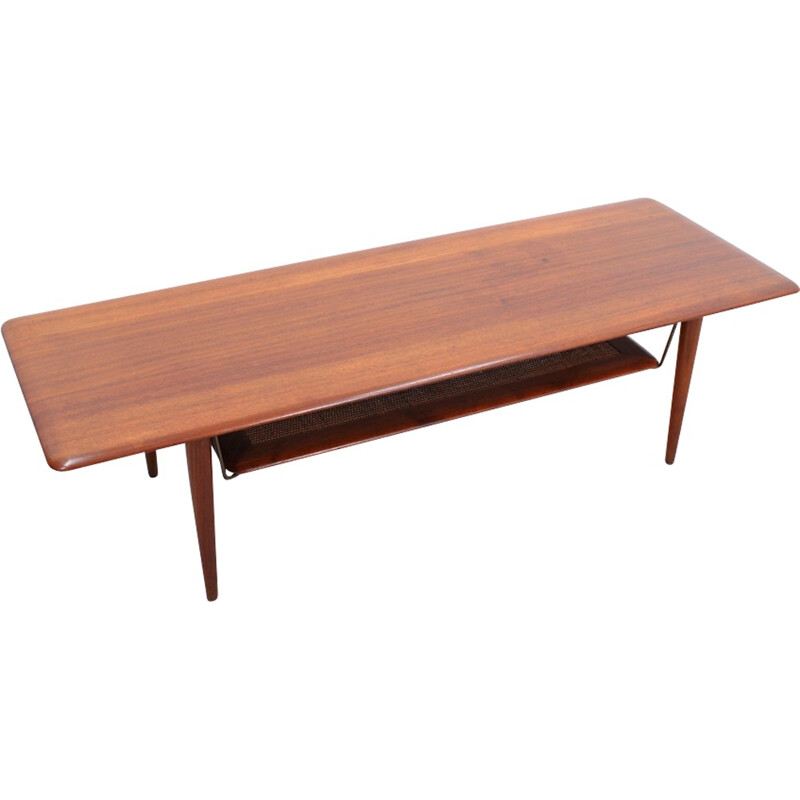 Danish dining table in wood by Finn Julh for France & Søn - 1950s