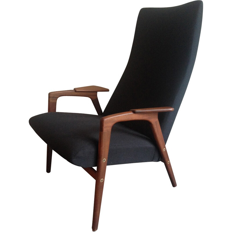 Mid-century Ruster Chair by Yngve Ekstrom for Pastoe - 1960s