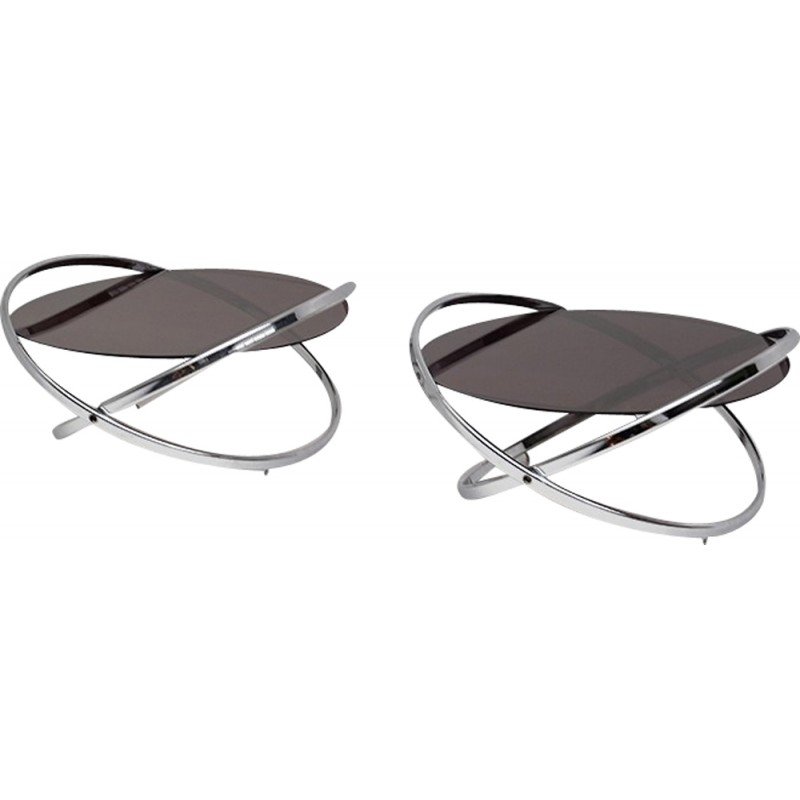 Mid-century Jet Star coffee tables by Roger Lecal - 1970s